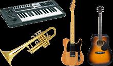 買取可能なアイテム:楽器一覧